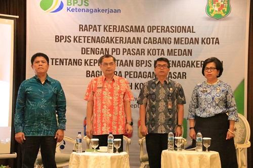 BPJS Ketenagakerjaan Diharapkan Mampu Lindungi Pekerja Pasar
